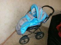 Детская коляска зима-лето Adamex Classic