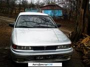 продам срочно Mitsubishi Galant в хорошем состоянии ,  серый металлик