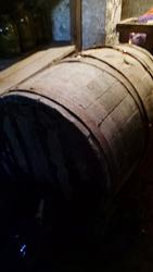 Хозяйственная деревянная бочка - 50 руб пмр